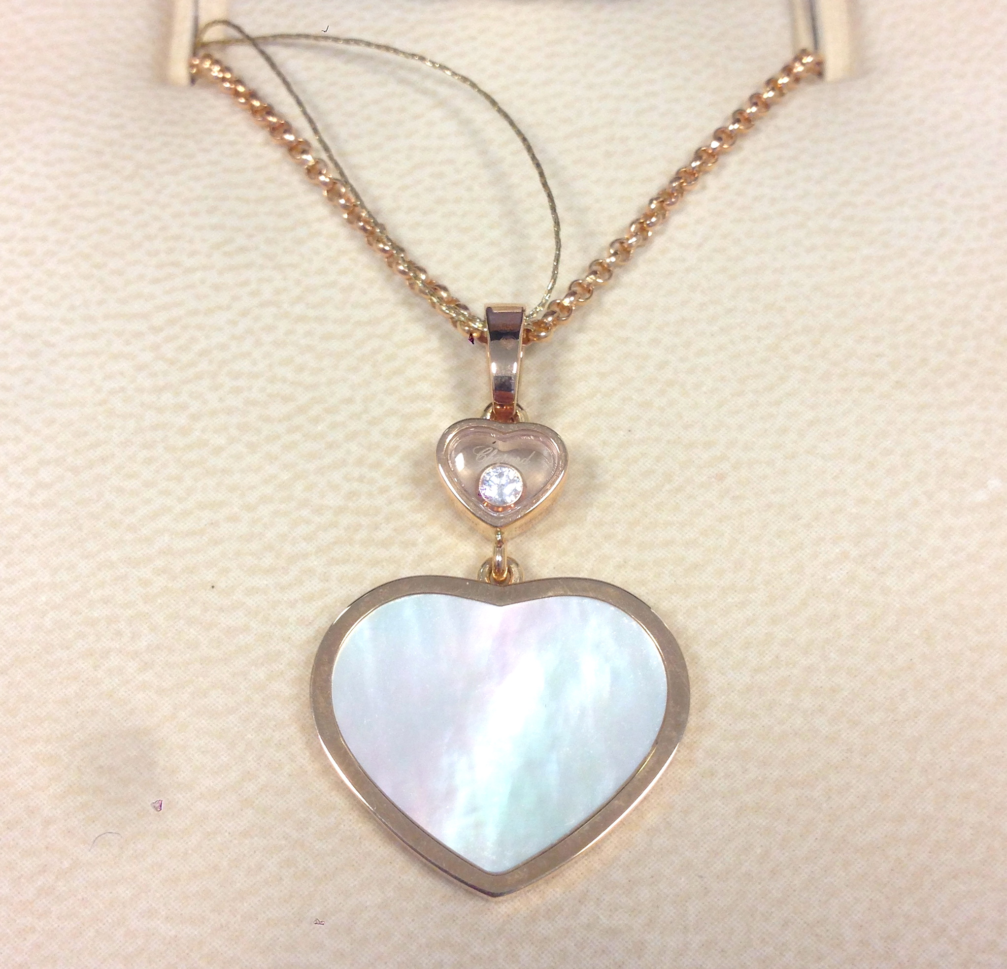 Chopard Happy Hearts Necklace