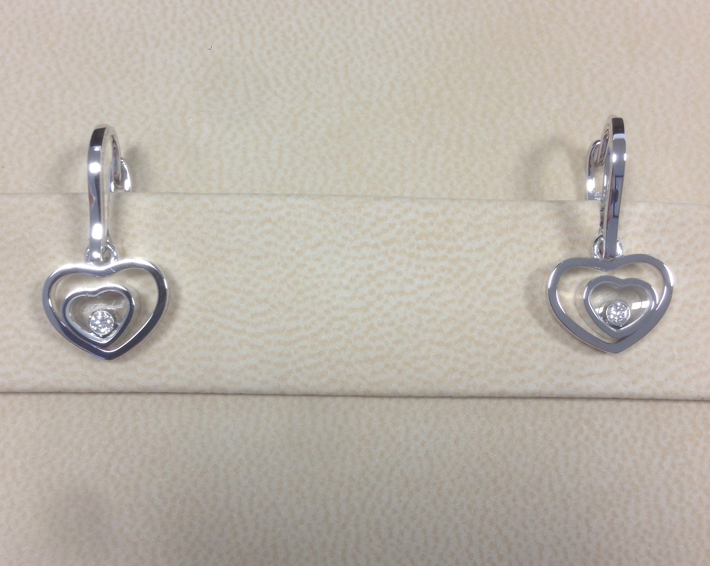 Chopard Happy Hearts Diamond Earrings