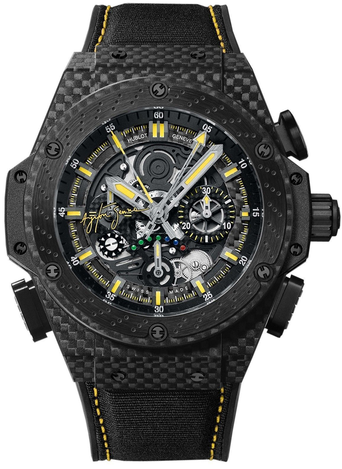 Hublot King Power F1 Ayrton Senna