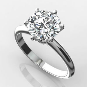 In Stock Engagement Solitare 1,01 carat Ring
