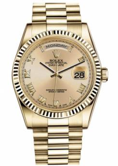 Rolex Day-Date President Yellow Gold